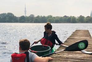 GreenKayak – Paddeln für Hamburg