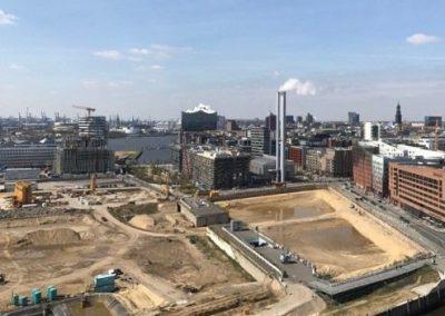 Das neue Überseequartier Süd in der HafenCity nimmt Konturen an